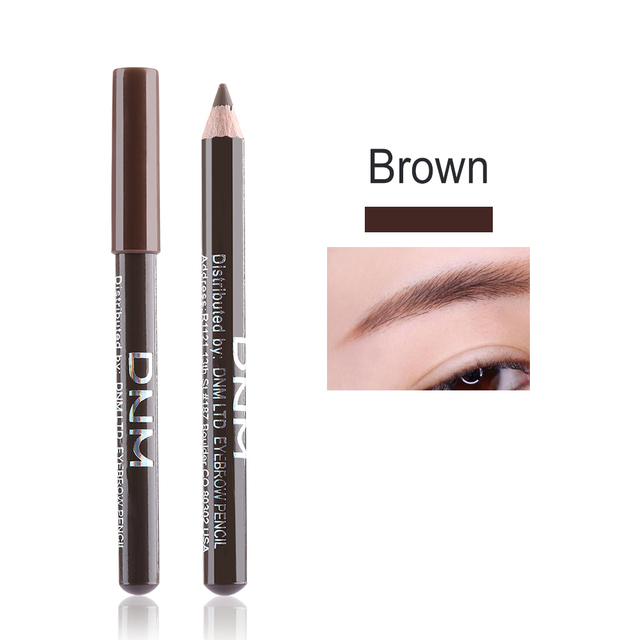 1PC Eyebrow Pencil Black/Brown Fine Sketch Eye Brow Enhancer Tattoo Tint Pen Cosmetic Long-lasting Makeup Tools 5