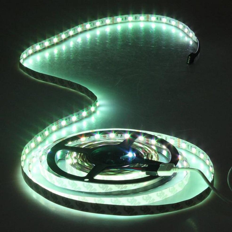 5 PCS 10M Waterproof 600LEDS 3528 SMD RGB 2X 5M LED light strip + 44 Key IR Remote Controller arlight лента 5 метров rt 2 5000 12v warm3000 2x 3528 600 led lux