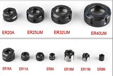 ER 32 Spring Collet Nut ER8 ER11 ER16 ER20 ER25 ER32 ER40 ER50 Nut A Type M Type Nut CNC Milling Machine Engraving Lathe Tool