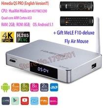 4พันUitra HD HIMEDIA Q5 PRO Hi3798CV200สมาร์ทรอยด์5.1กล่องทีวี2กิกะไบต์/8กิกะไบต์สนับสนุนDTS Dolbyเล่นร้านKodi 16.0 UHDตั้งกล่องด้านบน