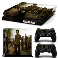 Vinly Skin Sticker Cover for Sony PS4 Slim PlayStation 4  the walking dead TN-P4-10217