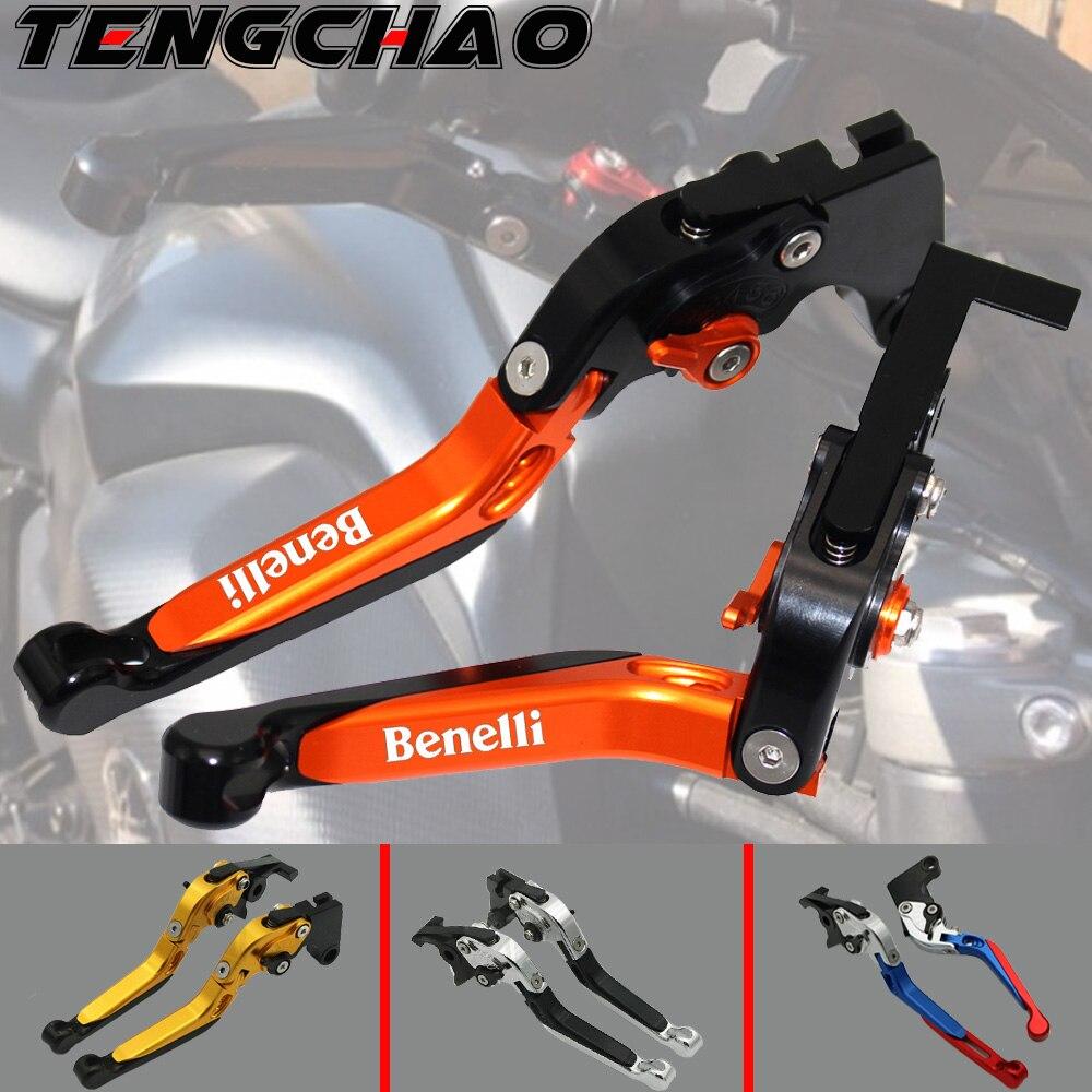 2017 CNC pliable extensible de frein pour moto leviers dembrayage pour Benelli Leoncino 500/Leoncino500/Leonine Leoninex 2016