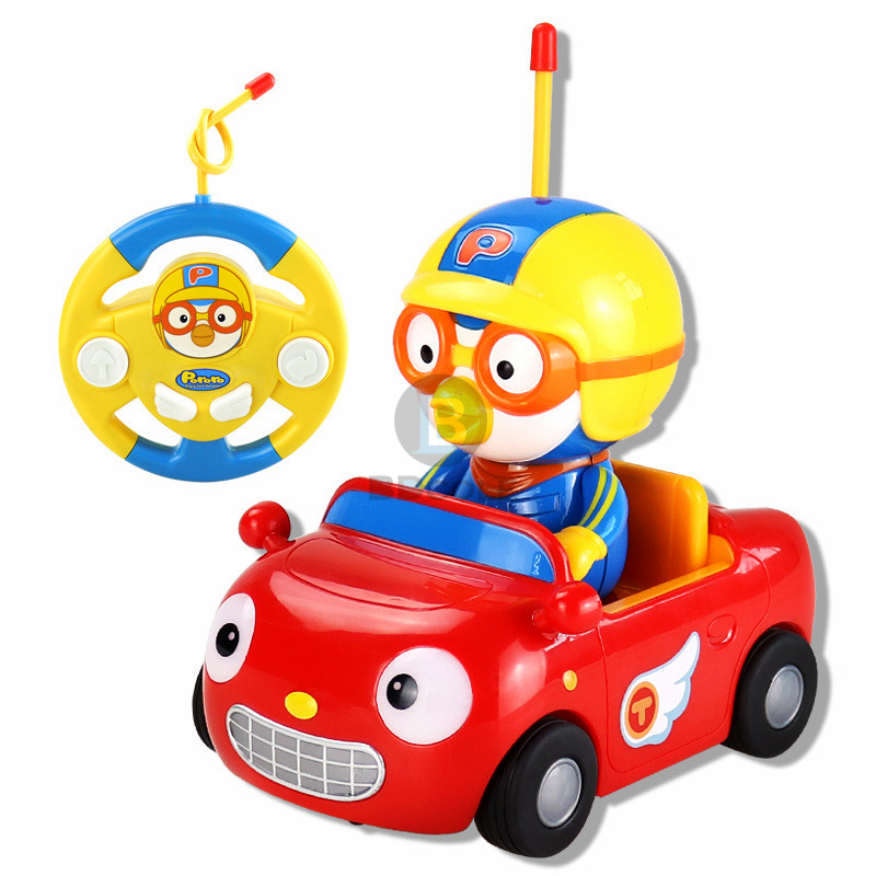 new baby boy girl bdcole remote control electric toys car kids rc car cute penguin cartoon musical light child car toy in rc cars from toys hobbies on