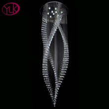 Buy Long Crystal Chandelier And Get Free Shipping On AliExpresscom - Long chandelier crystals