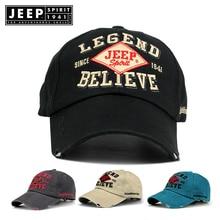 JEEP SPIRIT Brand Fashion Baseball Cap Embroidery Snapback Hat For Men Women Cotton Casual Mesh Caps Unisex Wholesale