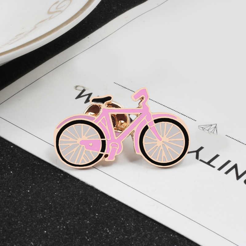 shshd Cartoon Enamel Pins Cute Skateboard Shoes Bicycle Brooch Denim  Jackets Lapel Button Pin Lighting Sunglasses Badge Jewelry