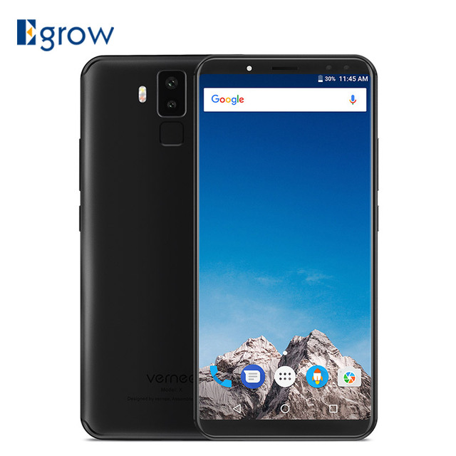 "Vernee x Mobile Phone MT6763 Octa Core 6GB+128GB 5.99"" Cell phones 6200mAh dual Cameras 16MP+5MP Fingerprint 4G LTE Smartphone"