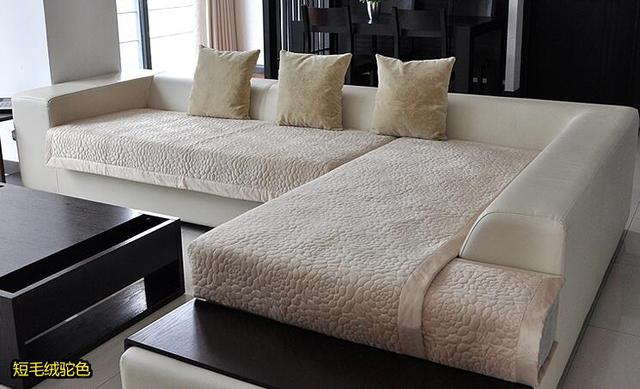 Aliexpresscom Buy Decorative sofa cover sectional  : Decorative sofa cover sectional modern slipcover tan beige suede fabric towel cover for the sofa simplejpg640x640 from www.aliexpress.com size 640 x 389 jpeg 80kB