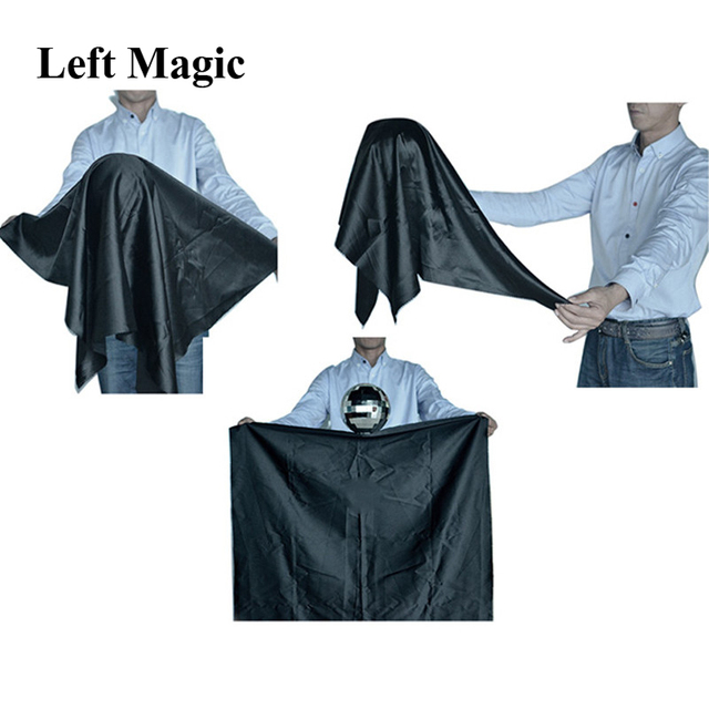 Zombie Ball With Foulard,Medium (Silver color ) Floating Magic Tricks Magician Stage Gimmick Illusion Fun G8220