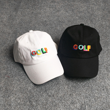 2018 GOLF Summer Embroidery Letters Hip Hop Baseball Cap Kanye West Men Women Harajuku snapback Bone Streetwear men women hat