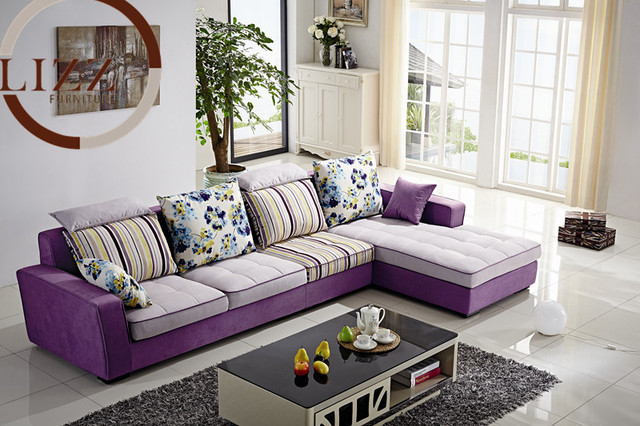Dubaï salon tissu canapé B1035 dans Canapés salle de séjour de ...