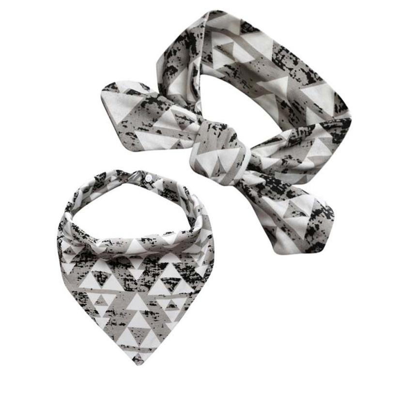 BMF TELOTUNY Fashion Cotton Blends Baby Kids Bandana Bib Feeding Saliva Towel Triangle W ...