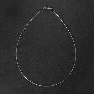 Image 5 - سلسلة قلادة كلاسيكية عالية الجودة مصنوعة يدويًا من الفضة الإسترليني 925 على شكل زهرة اللوتس المرحة مجوهرات فاخرة للسيدات كولير Acessorios