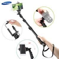 Handheld DSLR Camera Zelfontspanner monopod Bedrade Kabel Selfie Stick Pole Monopod voor Sony CS 39 h MINI Voor Samsung S7 C5 Edge G5 G4