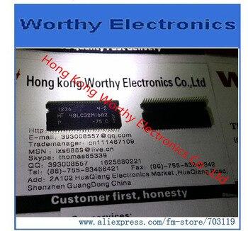 Free  shipping   10PCS/LOT    MT48LC32M16A2P-75C     MT48LC32M16A2P   75C     48LC32M16A2   TSOP-54
