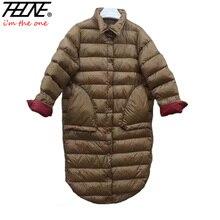 2018 ультра легкий пуховик женские зимние пальто черное пальто теплое 90% утиный пух мягкие длинные зимние куртки женские пуховики парка
