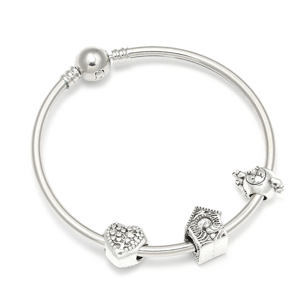 Dropshipping New Design DIY Charm Bracelets with Love Heart