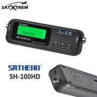 Sathero SH-100HD SAT Finder DVB-S/S2 HD Digital Satellite Finder Sygnału Odbiornik Satelitarny Z USB 2.0 Szybka Wysyłka