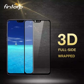 Перейти на Алиэкспресс и купить Закаленное стекло для OPPO A83 A59 A3 F3 F5 F7 A5 A3S A5S 3D Защита экрана для OPPO Reno 2 K5 Realme X2 5 Pro XT защитная пленка