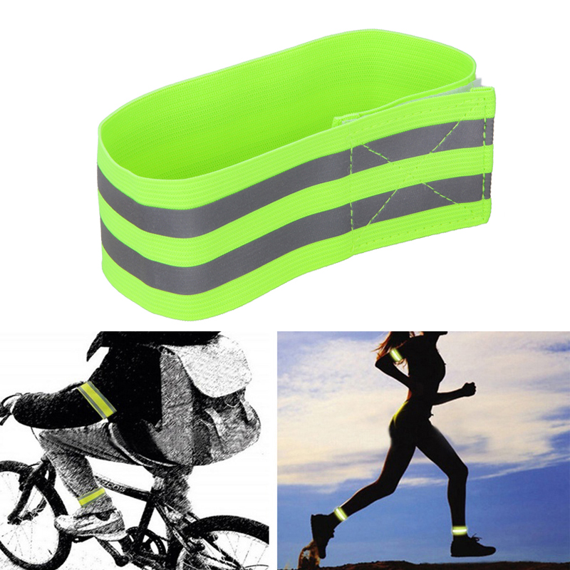 Belt-Strap Arm-Band Cycling Safety-Alert Night-Reflective Jogging Outdoor Sports Armlet