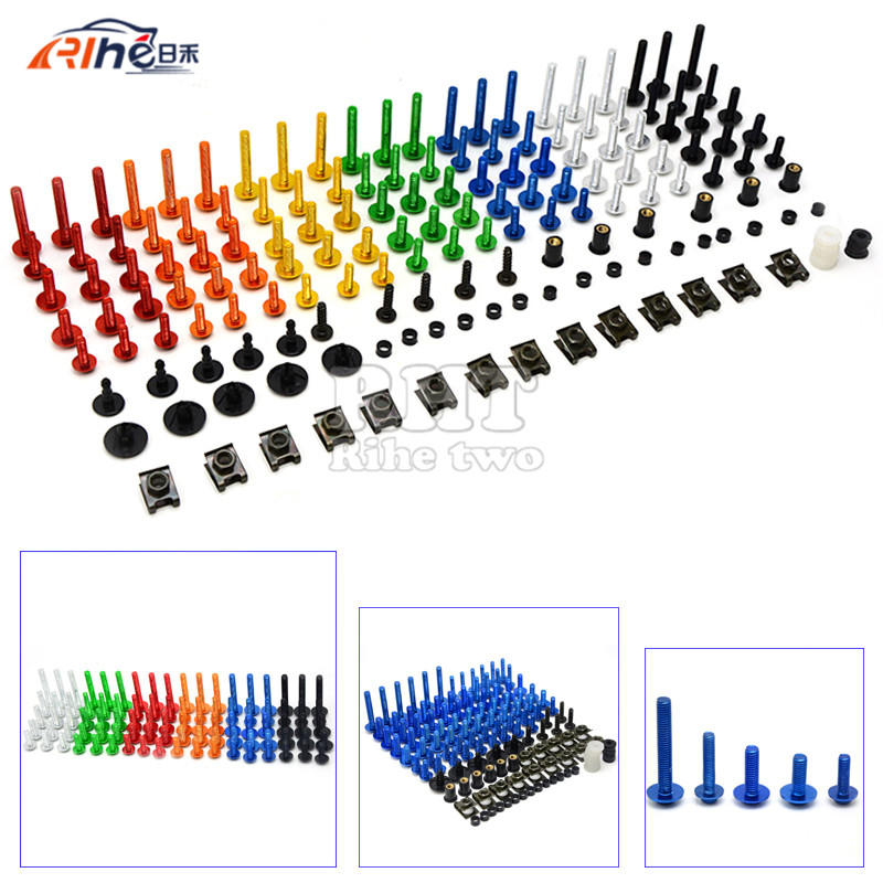 Brand new  Universal CNC Motorcycle Accessories Fairing body work Bolts Screws for Yamaha YZF-R15 / 2015'FZ-07/ 2014 YZF-R25 new universal brand cnc motorcycle accessories fairing body work bolts screws for yamaha yzr r1 yzf r6 wgp vmax yfm90r