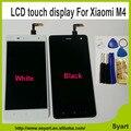 1 PCS Branco New Arrivel mi 4 m4 mi4 LCD Display + Touch tela de lcd do telefone celular de substituição assembléia para xiaomi mi 4 m4 mi4