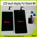 1PCS White New Arrivel mi 4 m4 mi4 LCD Display +Touch Screen lcd Replacement cell phone Assembly For xiaomi mi 4 m4 mi4