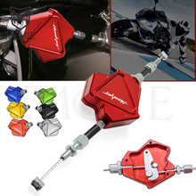 Motorcycle CNC Aluminum Stunt Clutch Lever Easy Pull Cable System For Honda CB919 CB900F Hornet CB 919 900F 900 F 2001-2008