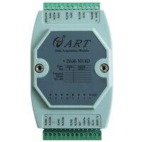 8 방향 릴레이 출력 모듈 rs485 버스 modbus rtu 프로토콜 dam3018d/am3017d