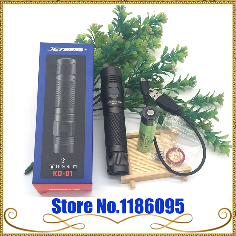 free JETBeam  NITEYE KO-01 Cree XP-L led 1080 lumen Tactical flashlight 1080 lumen side switch torch have 18650 battery gift niteye ec a12 aa battery rechargeable led flashlight edc light cree xp l led lamp 380 lumens alloy reflector power indicator