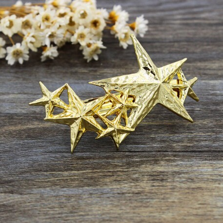 Timlee H096 Grace Starfish Female Design Hair Clip Popular HairPins Girls Lovely Hair Accessary Wholesale . TLW