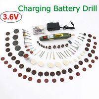 3.6V Charging Battery Dremel Charge Mini Electric Drill DC Grinders Cordless Drills Polishing Machine Dremel Electric Power Tool