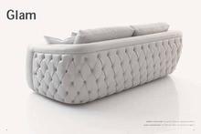 Jixinge alta calidad sofá broche sofá clásico, estilo europeo sofá Chesterfield sofá sofá de la sala