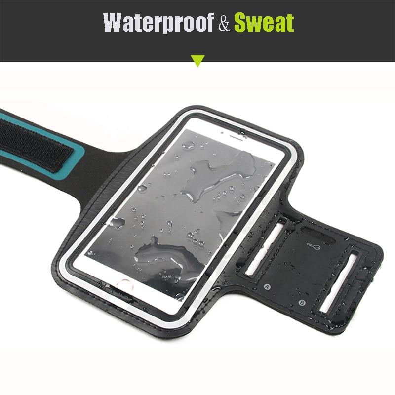 For Huawei Samsung Sport Arm Band Case Բջջային հեռախոս - Բջջային հեռախոսի պարագաներ և պահեստամասեր - Լուսանկար 3