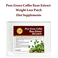 60 Days Supply FiiYoo Pure Green Coffee Bean Extract Weight Loss Pad Fat Loss Slimming