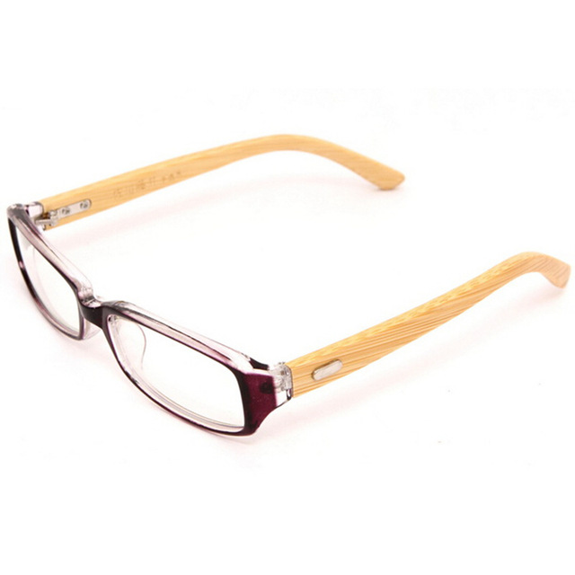 Office Ladys Quality Wooden Glasses Frame Eyewear Frames Bamboo ...
