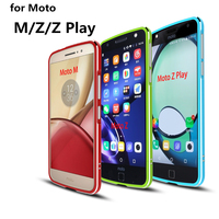 Case For Motorola Moto Z Luxury Deluxe Ultra Thin Aluminum Bumper For Motorola Moto Z Play