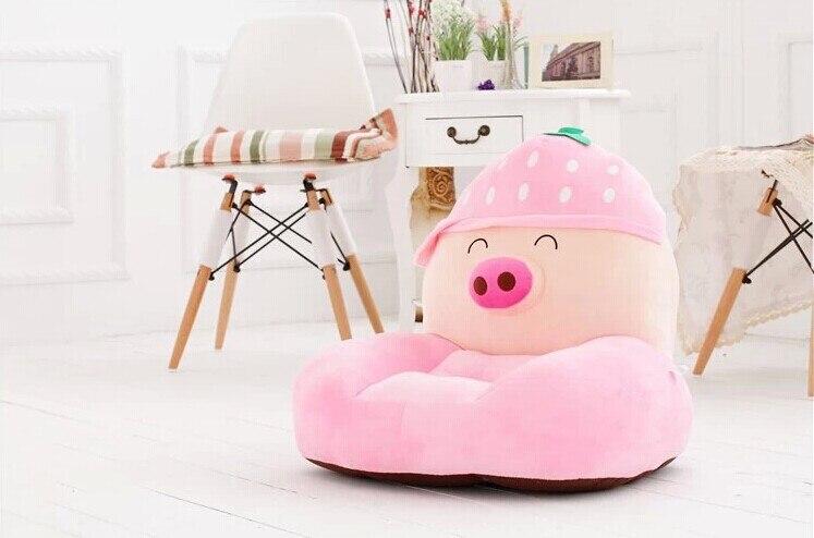 new plush fruit pig sofa toy cartoon pink strawberry fruit pig sofa gift about 50cm стоимость