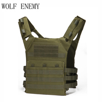 Outdoor Hunting Vest Amphibious Multi Pockets Military Plate Carrier Vest Airsoft Paintball Combat Molle Tactical Vest