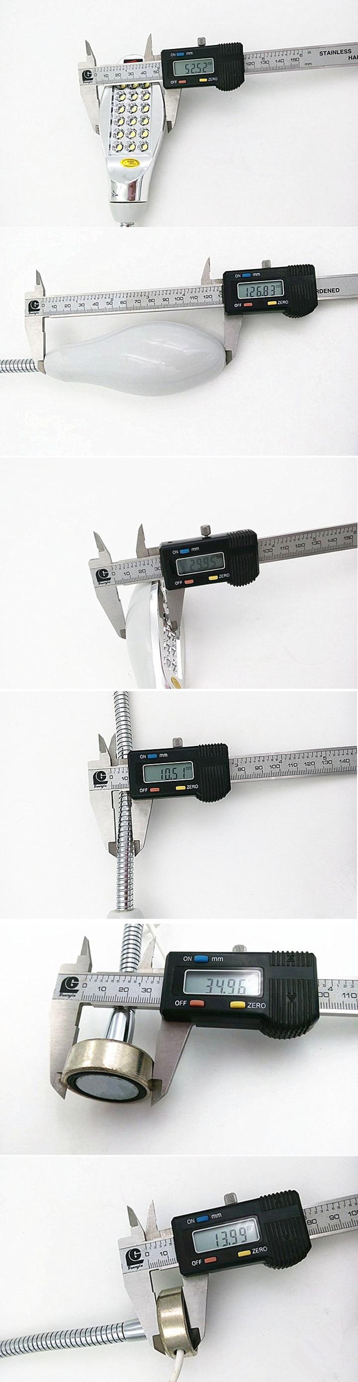 D18A-1.8W светодиодная лампочка для швейной машинки, промышленная лампа для шитья, AC110V220V380V