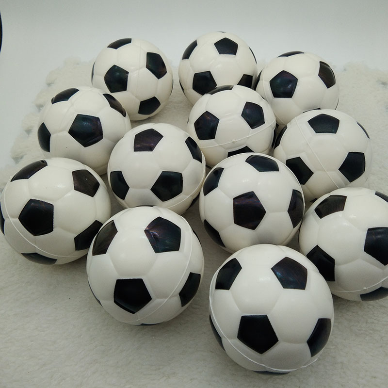 Toy Anti Stress Squishy Soccer Ball Relief Soft Foam Rubber squeeze toys antistress Football Ball Children 12pcs 6.3cm