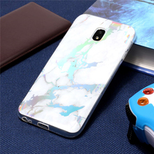 ZIHFONE Plating Phone Cases For Samsung Galaxy J7 2017 Case Shiny Laser Soft Marble Cover EU Capa Coque
