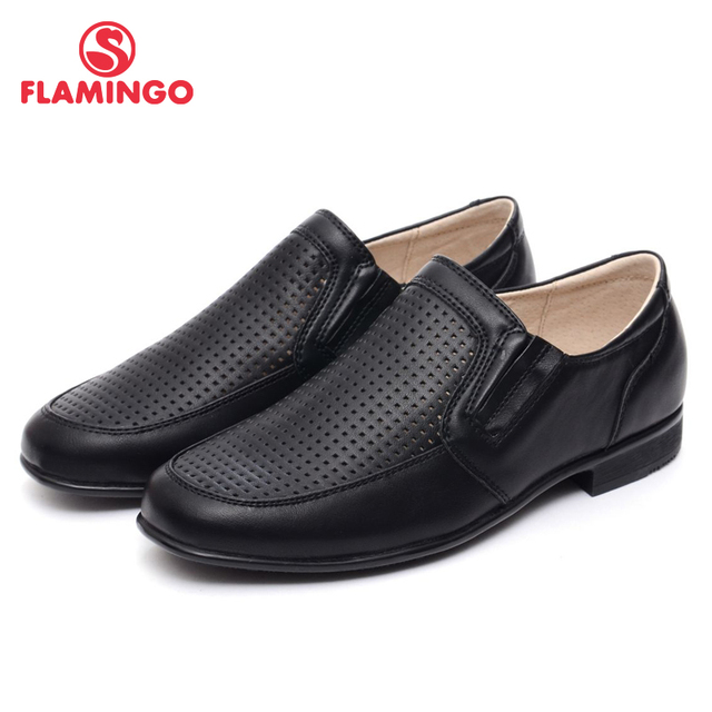 FLAMINGO 2017 new arrival spring & autumn kids shoes fashion high quality classic school shoes for boys W6CH091