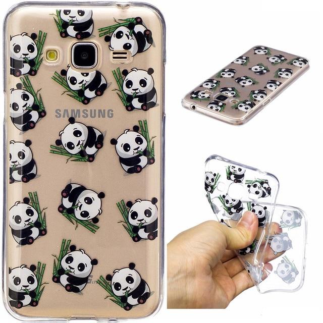 coque silicone samsung j3 2016 panda