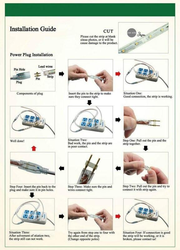 Led Strip Light Pin Installation