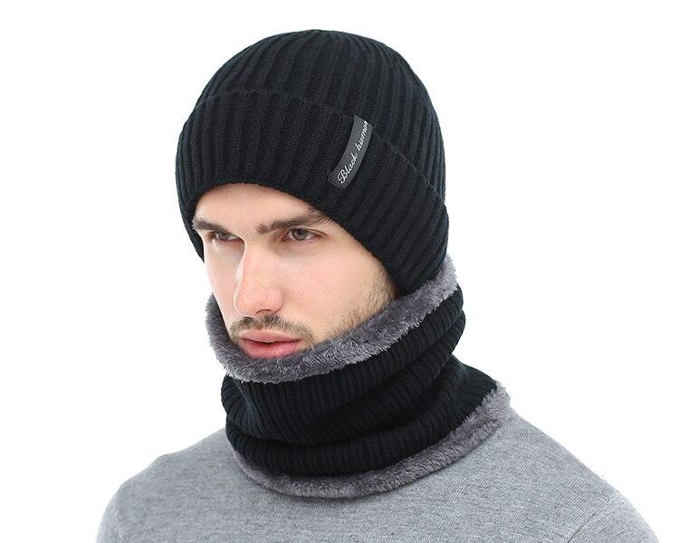 ... HTB1hOxPgH3XS1JjSZFFq6AvupXa1 AETRUE Winter Beanies Men Scarf Knitted  Hat Caps Mask Gorras Bonnet Warm Baggy Winter Hats 2e86d0a1452d