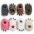 2016 invierno encantadoras garras bebé suela blanda antideslizante niño zapatos de algodón acolchado zapatos calientes