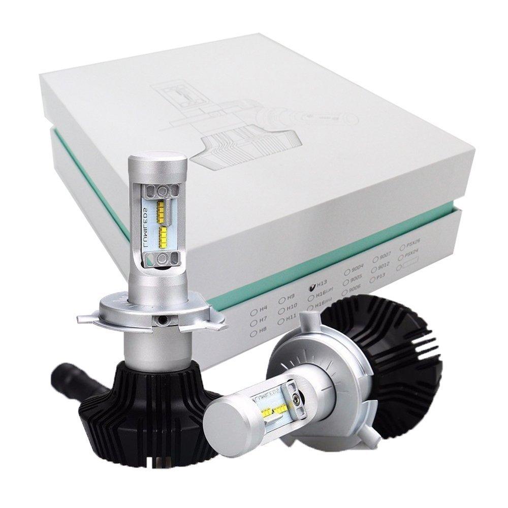 1Pair Car LED Headlight H4 H7 H11 H8 H9 H1 H3 9012 HB3 9005 HB4 9006 9004 9007 H13 881 LED Car Headlights Bulb Hi/Lo 8000LM