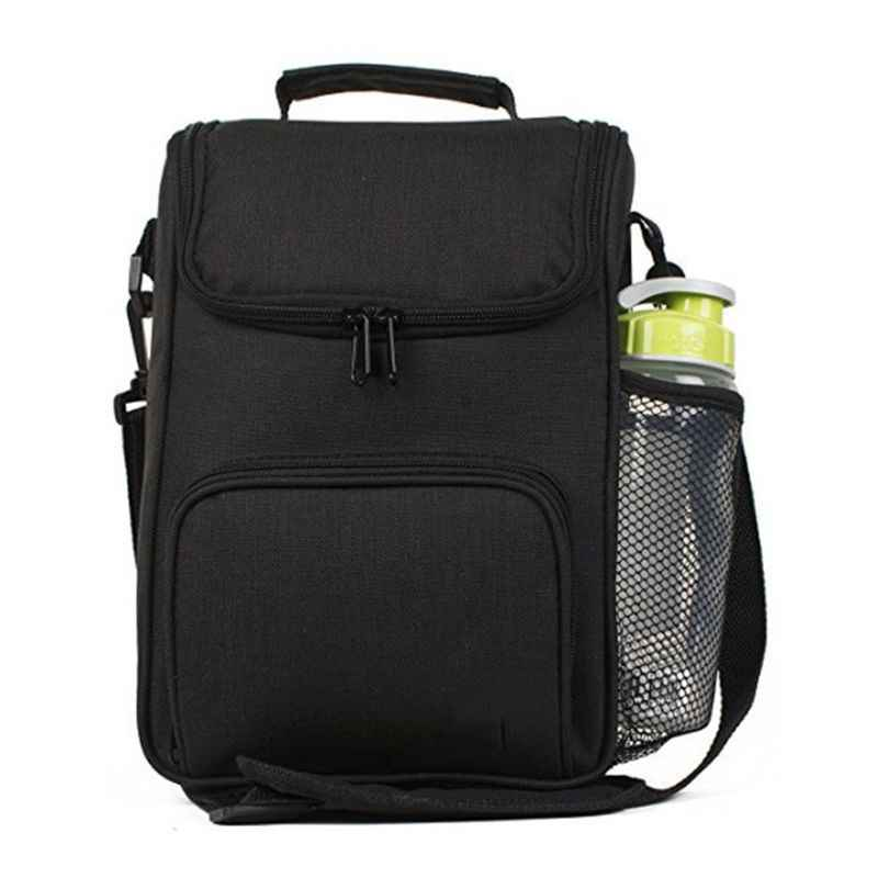 Insulated Lunch Bag Adult Lunch Box for Work Men Women with Adjustable Strap