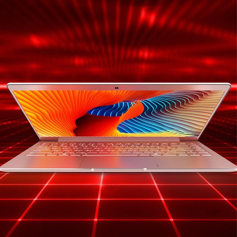 """06 כסף P9-06 6G RAM 64G SSD Intel Celeron J3455 19"""" מחשב שולחני מחברת משחקים ניידת עם מקלדת מוארת (4)"""